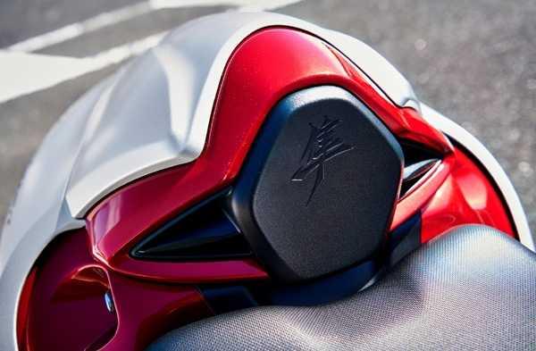 Suzuki Hayabusa 2021 เบาะนั่งหลังคนขับ