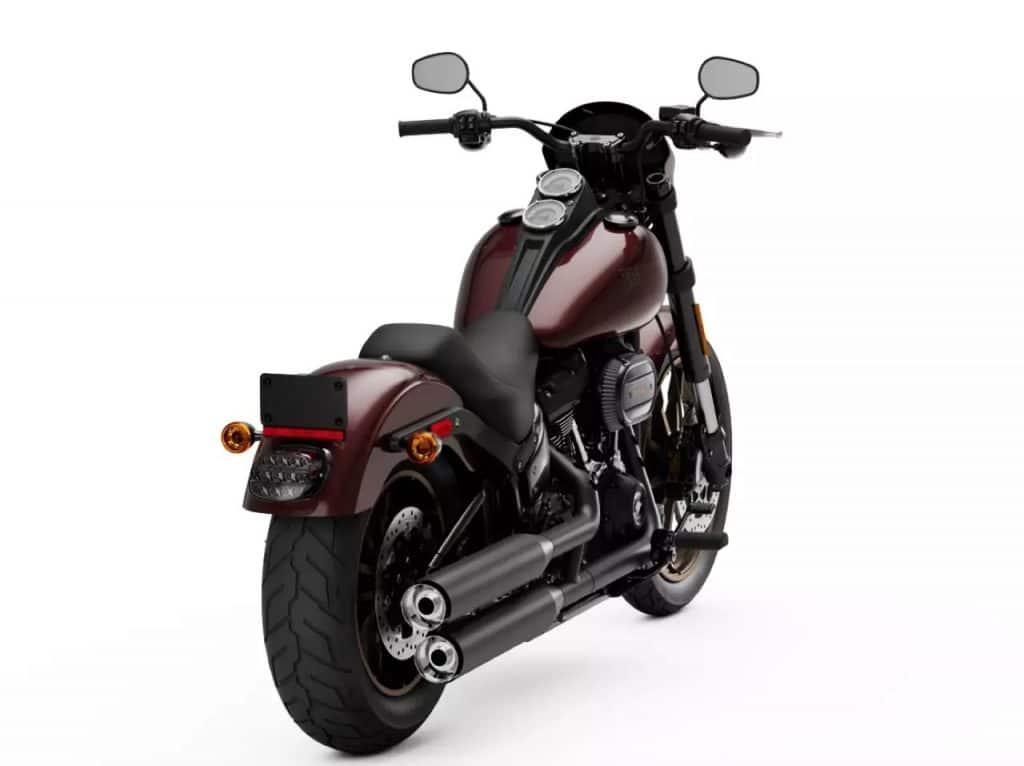 Harley Davidson low rider เฉียงข้าง