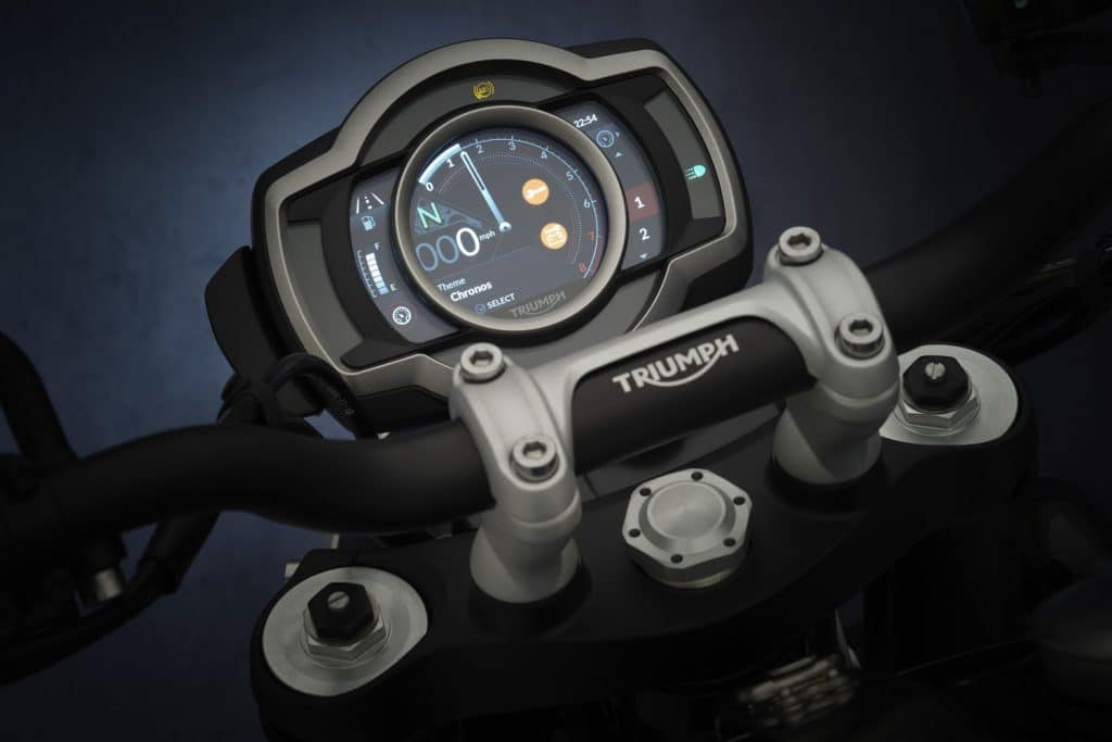 Triumph Scrambler 1200 2021 จอแสดงผล XC