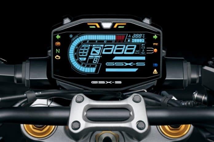 Suzuki GSX-S1000 LCD Digital