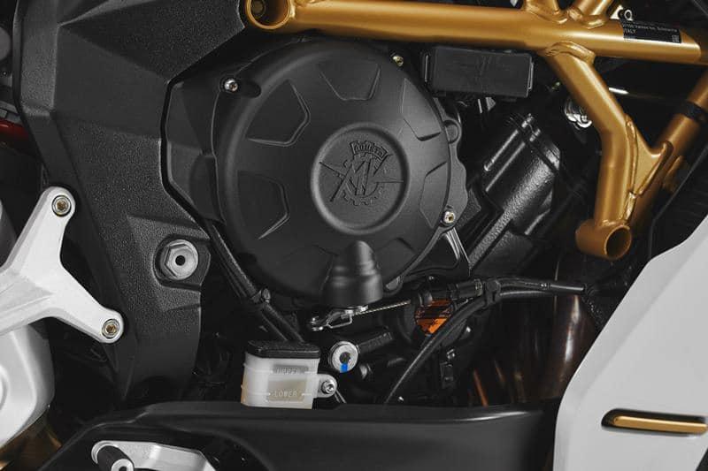 MV Agusta Superveloce 800 engine