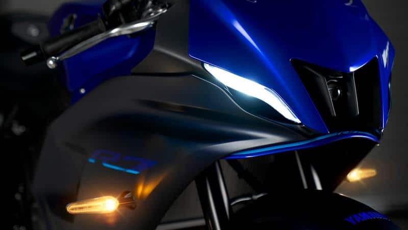 Yamaha YZF-R7 2021 headlight