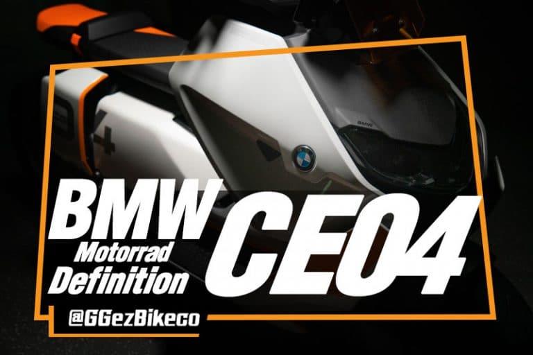 เผยข้อมูลเต็มรูปแบบของ BMW Motorrad Definition CE 04 ใหม่