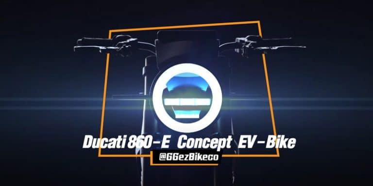 แนวทางแห่งโลกอนาคต ducati 860-e concept เผยสุดยอดแนวคิดของรถมอเตอร์ไซค์ไฟฟ้า