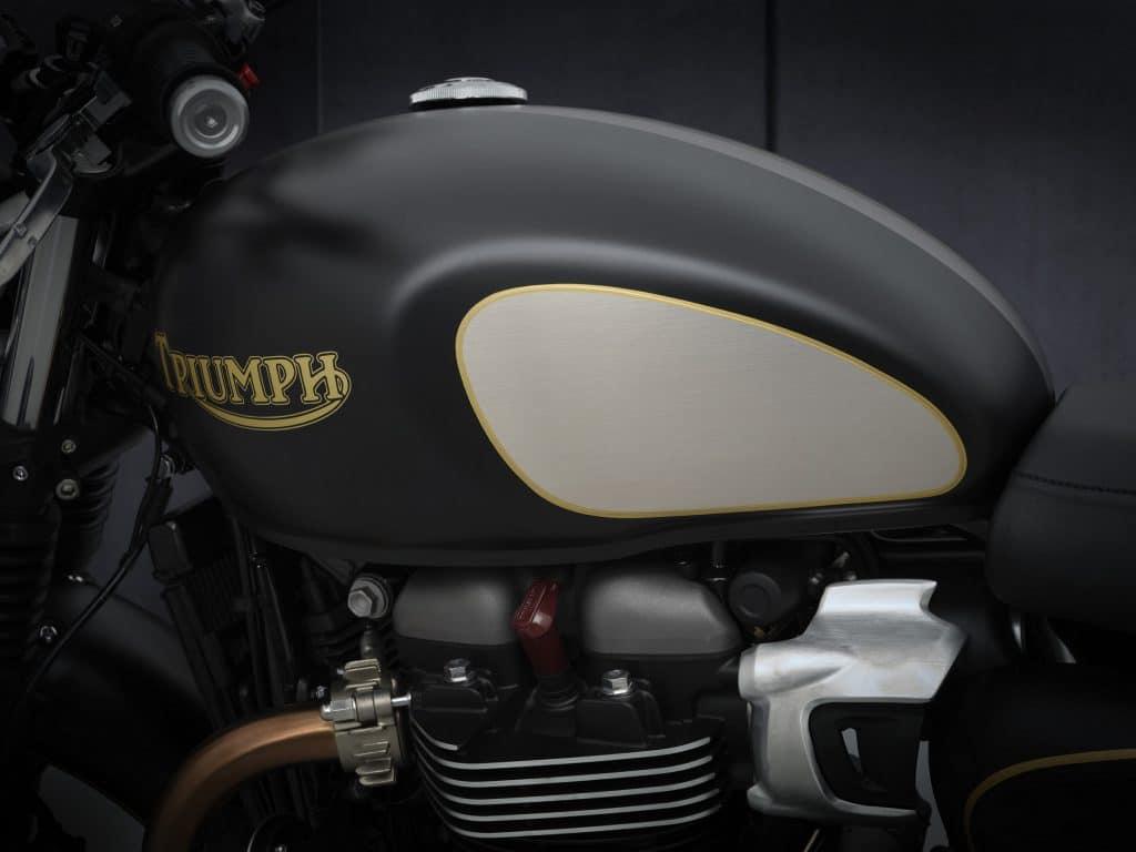 Triumph Street Twin Goldline Limited Edition part 02